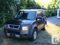 Make Honda Model Element Year 2004 Colour Black kms