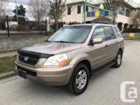 Make Honda Model Pilot Year 2004 Trans Automatic 2004