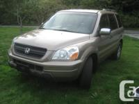 Make Honda Model Pilot - 3.5L V6 GOOD ON FUEL -