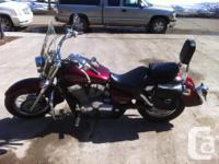 2004 Honda Shadow Aero 750 Factory Burgundy 12xxx