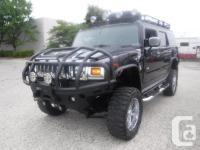 Make Hummer Model H2 Year 2004 Colour Black kms 102182