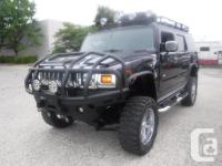 Make Hummer Model H2 Year 2004 Colour Black kms 102182