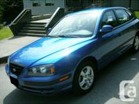 2004 Hyundai Elantra GT  100,000 km very good