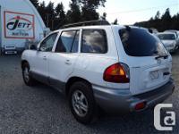 Make Hyundai Model Santa Fe Year 2004 Colour white kms