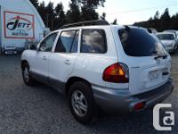 Make Hyundai Model Santa Fe Year 2004 Colour white kms