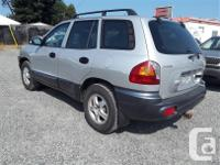 Make Hyundai Model Santa Fe Year 2004 Colour silver