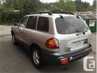 Make Hyundai Model Santa Fe Year 2004 Colour Silver