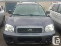 Make Hyundai Model Santa Fe Year 2004 Colour blue kms