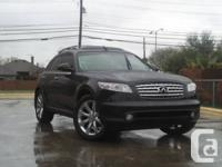 Clean & Well Maintained 2004 Infiniti FX35 for Sale.