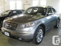 2004 Infiniti FX45, 4.5L 8-cylinder engine and only