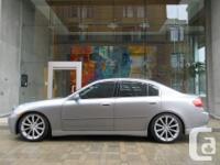 Make Infiniti Model G35 Year 2004 Colour Grey kms