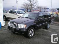 Make Jeep Model Grand Cherokee Year 2004 Colour Black