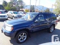 Make Jeep Colour blue Trans Automatic kms 191000 2004