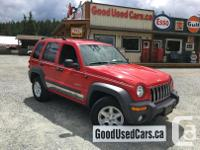 Make Jeep Year 2004 Colour Red Trans Manual kms 93000