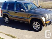 Make Jeep Model Liberty Year 2004 Colour TAUPE kms