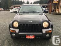 Make Jeep Model Liberty Year 2004 Colour Black kms
