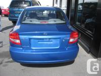 Make Kia Model Rio Year 2004 Colour Blue kms 64500