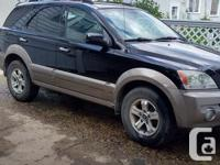 Make Kia Model Sorento Year 2004 Colour Black kms
