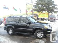 Please call @ . GX 470, Only 154000 km, Limited,