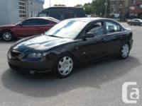 2004 MAZDA 3 GT SPORT, 4cyl., AUTOMATIQUE, Air