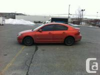 2004 Mazda 3 GT  If Interested Please Call (514)