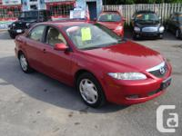 Make Mazda Model 6 Year 2004 Colour Red kms 159000