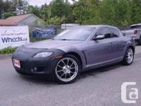 2004 Mazda RX-8 GT Heated Mirrors, Power Windows,