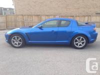2004 MAZDA RX8. MANUEL/5SPEED Transmission, ROTARY, 4