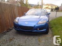 Make Mazda Model RX-8 Year 2004 Colour Blue Trans