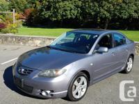 Make Mazda Model MAZDA3 Year 2004 Colour grey kms