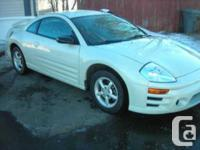 Spruce Grove, AB 2004 Mitsubishi Eclipse RS Coupe This