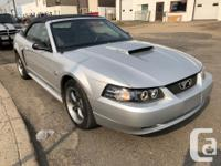 Make Ford Model Mustang Year 2004 Colour SILVER kms