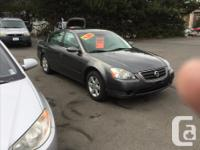 Make Nissan Model Altima Year 2004 Colour Grey over
