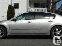 2004 Nissan Maxima SE- $7400 OBO  I am selling my