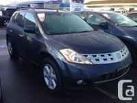 Only $3998 Gray Nissan Murano 3.5L V6 DUAL OVERHEAD CAM