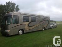 2004 Newmar Northern Star 40ft Class-A Motorhome.