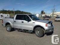 2004 F150 Crew Taxicab, 5.4 V8, 4x4, remote start,