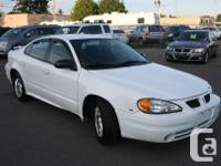 Make Pontiac Model Grand AM Year 2004 Colour White kms