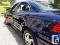 Make Pontiac Model Grand AM Year 2004 Colour Blue kms