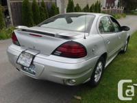 Make Pontiac Model Grand Am Year 2004 Colour SILVER