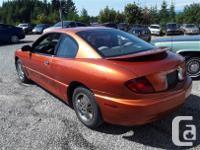 Make Pontiac Model Sunfire Year 2004 Colour Orange kms