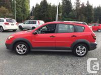 Make Pontiac Model Vibe Year 2004 Colour Red kms