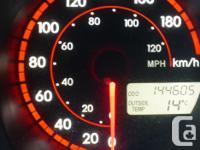 Make Pontiac Model Vibe Year 2004 Colour Orange kms