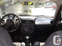 Make Chrysler Model PT Cruiser Year 2004 Colour BLACK