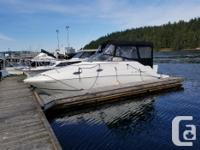 Volvo 8.1 litre, 375 HP, 260 hours, lake boat just put
