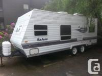 For sale 2004 Salem T22FDL by Forest River 22ft travel