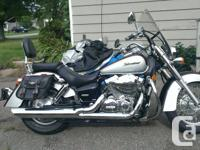 2004 Honda Shadow Aero 750, Has best around 40k. Bike