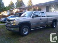 2004 Silverado, 3/4 ton, long box, 2500HD, 4x4, Auto, 6