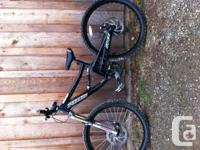 2004 specialized big hit. 5 inches of travel in the