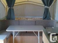2004 starcraft tent trailer, good condition. Call